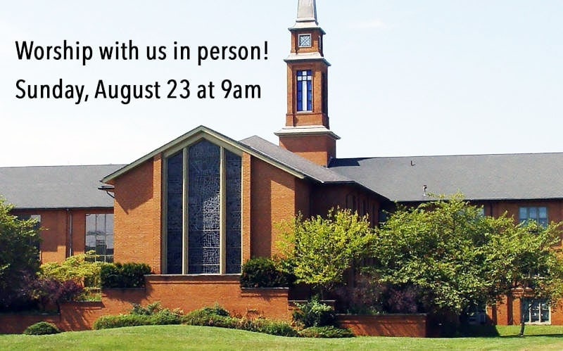Outdoor Worship on August 23rd