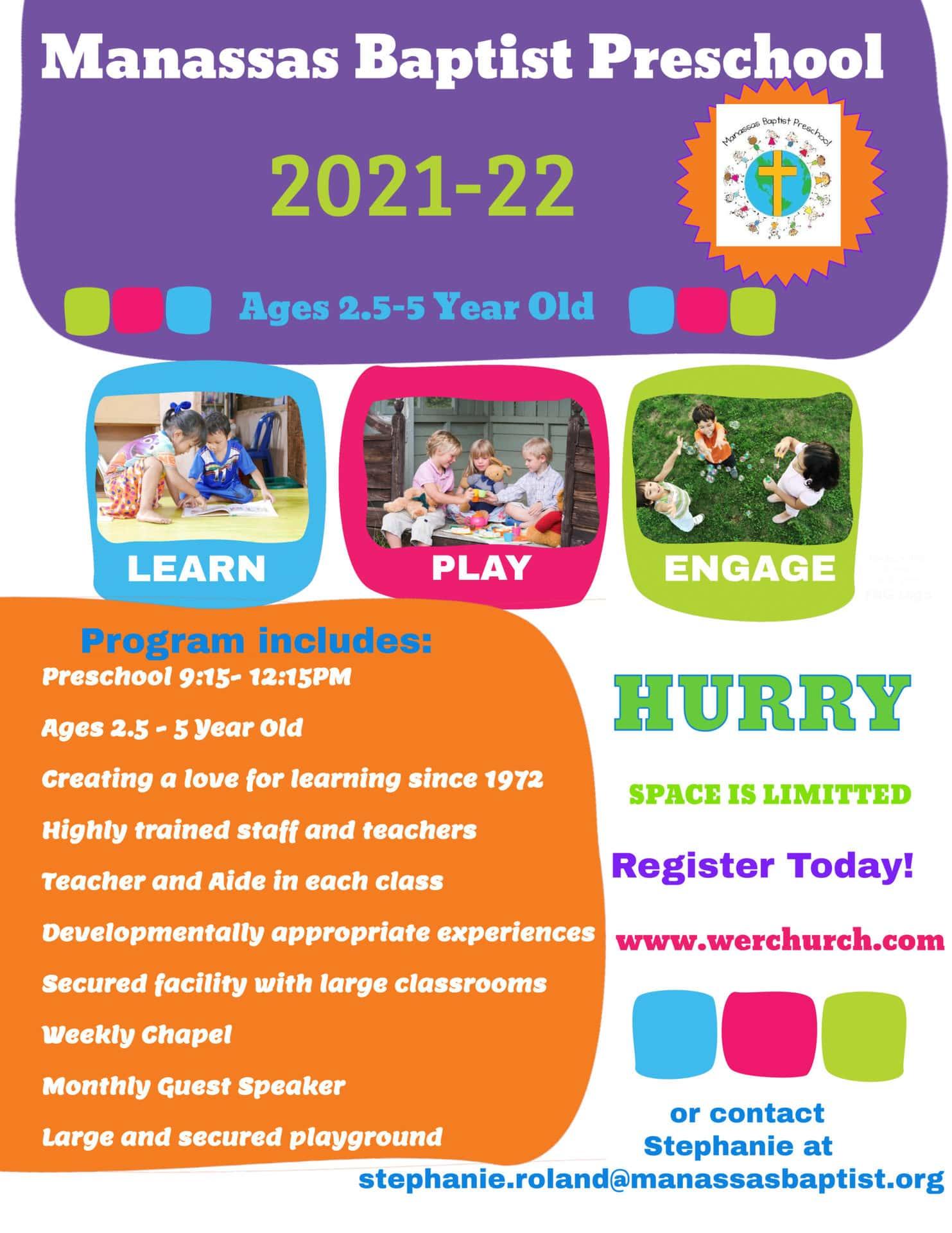 Flyer Preschool